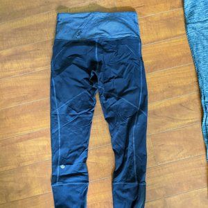 Lululemon Rebel Runner Crops sz 4